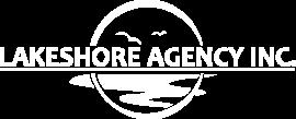 lakeshore agency logo white