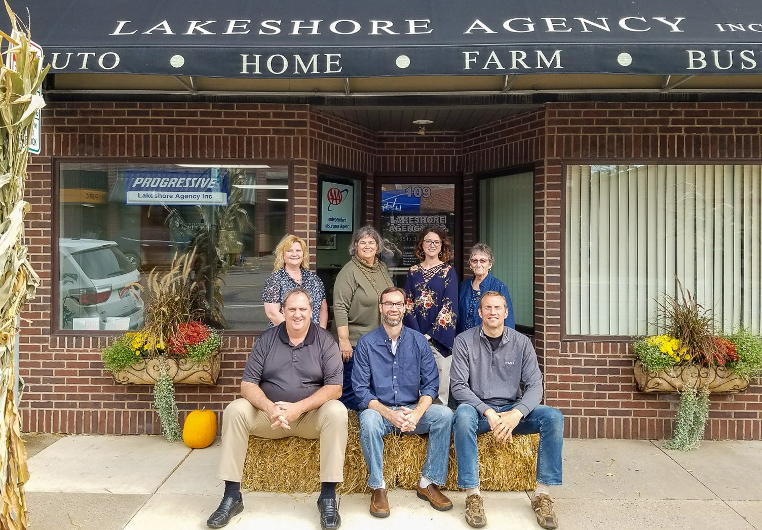lakeshore agency office team photo